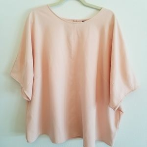 Who What Wear Blush Colored Top